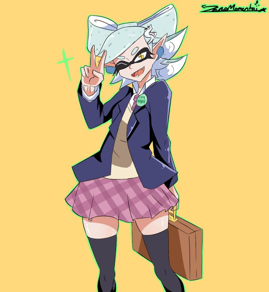Schoolgirlmarie by ZeroMomentai
