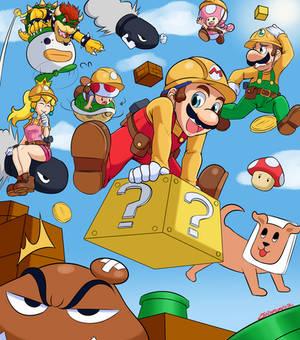 Mario Maker Fanart Piece