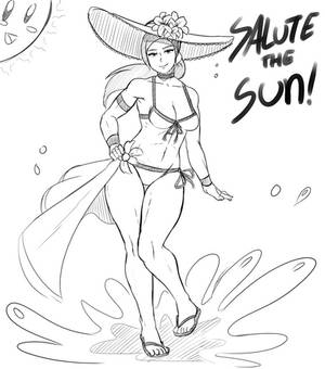 Wii-fit Trainer Bikini