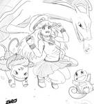 Pokemon trainer green