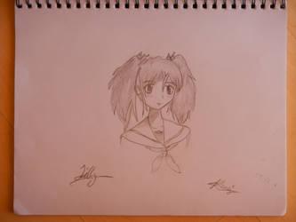 Anime Girl by rosey996