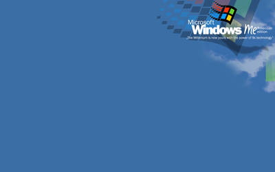 Windows-Me-Wallpaper by vapordeviant