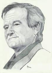 Robin Williams ballpoint pen