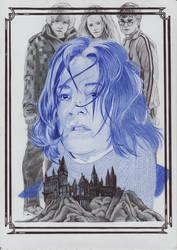 Severus Snape  ballpointpen drawing