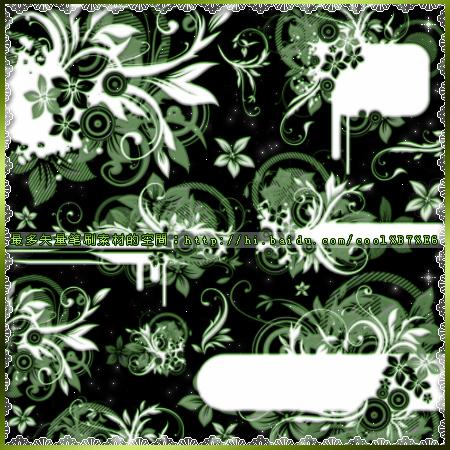 frame wallpaper. Flower Frame Wallpaper Brushes
