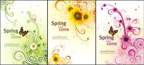 spring has come psd