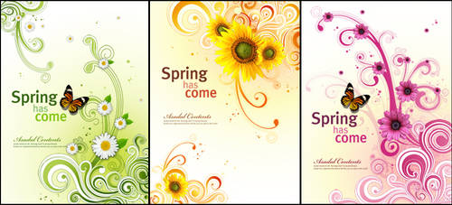 spring has come psd