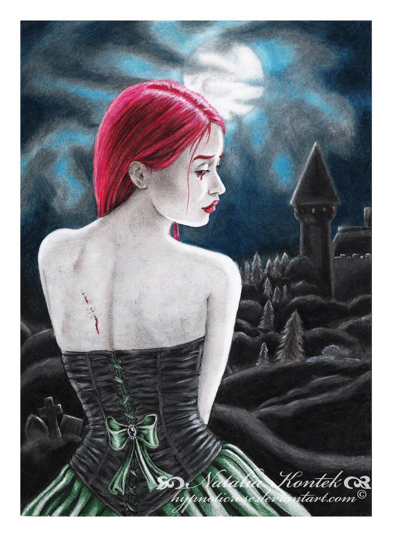 Dead Moonlight Rose by HypnoticRose