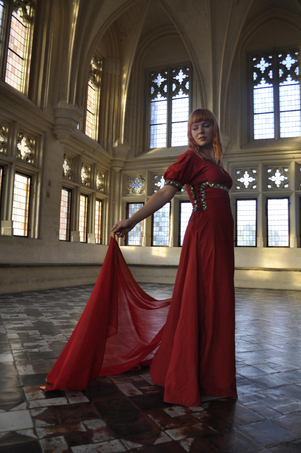 Red Priestess by HypnoticRose