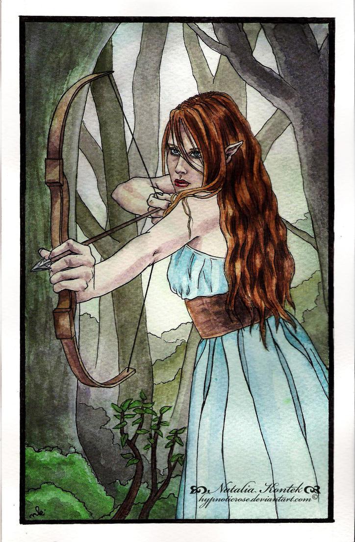 Elvish Archer by HypnoticRose