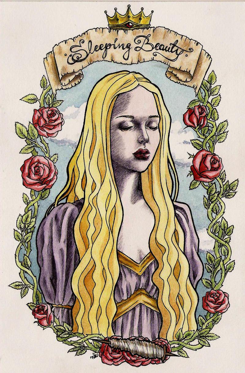Sleeping Beauty by HypnoticRose