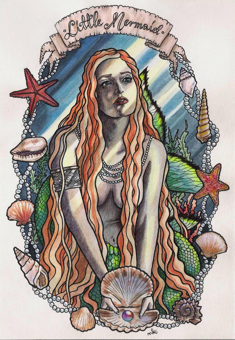 Little Mermaid by HypnoticRose