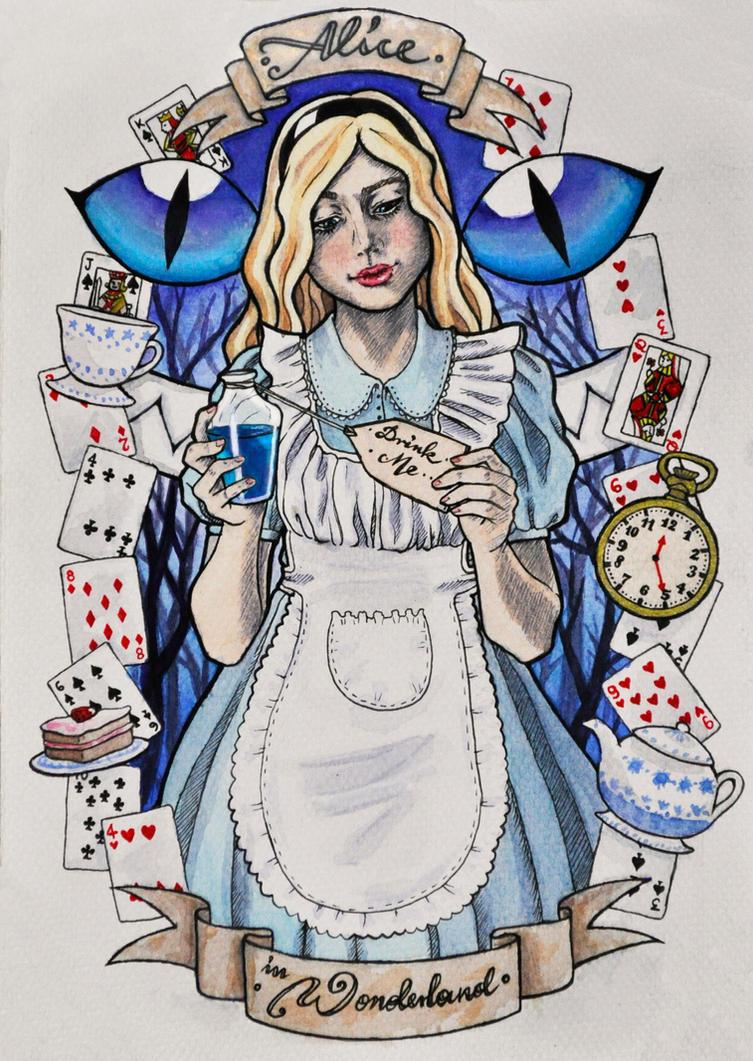 Alice In Wonderland by HypnoticRose