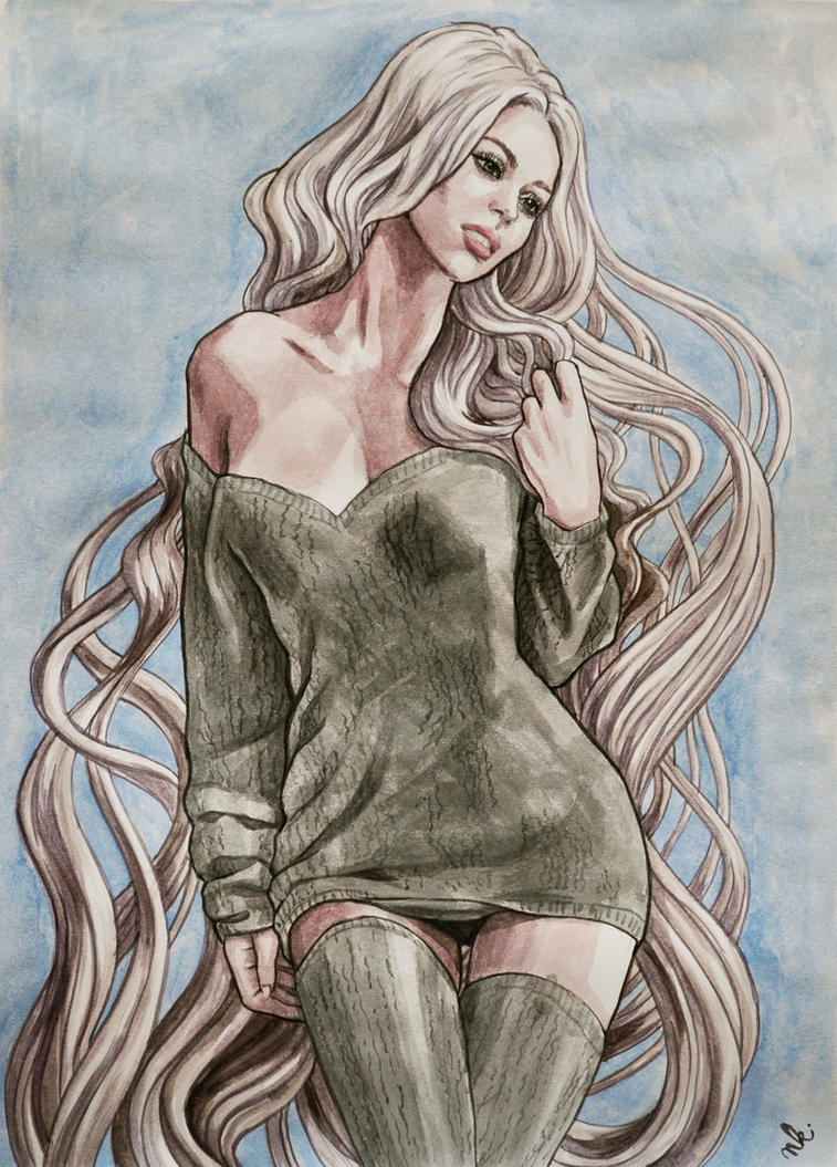 Lady Blonde by HypnoticRose