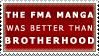 Manga vs. Brotherhood Stamp by anikazeni