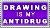 Drawing is my Antidrug by anikazeni