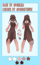 [open] Anthro Adoptable 01
