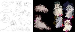 Seal Sketch Dump