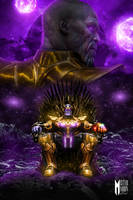 The Mad Titan is King artwork by MisterMoonArtwork