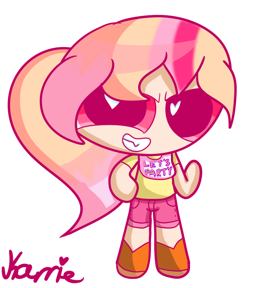 My Puffed Self As Toy Chica: [PPG OCs] Nicole As Toy Chica By XiRedKarrieix On DeviantArt
