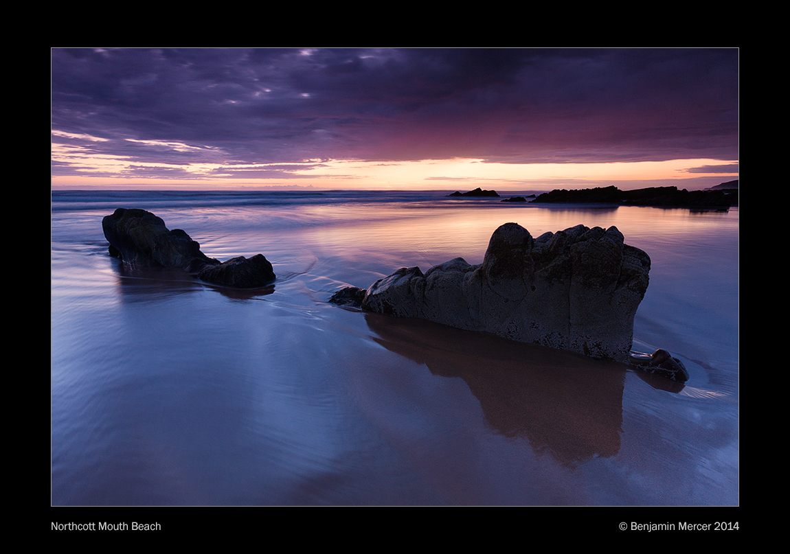 Northcott Mouth Beach by henroben