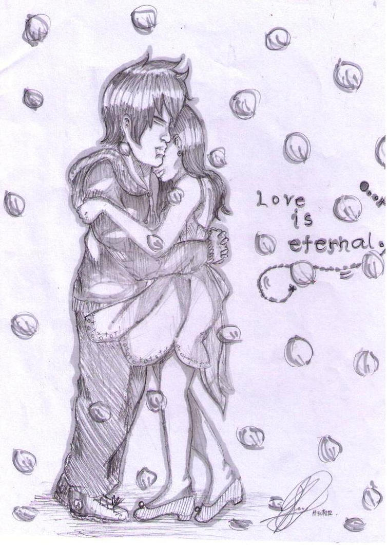 Boy and girl in love sketch boy and girl in love sketch