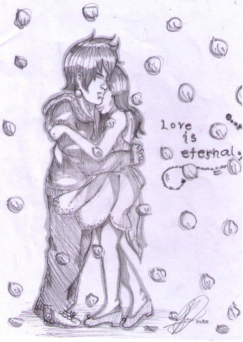 Love is eternal boy x girl by h3ct2r