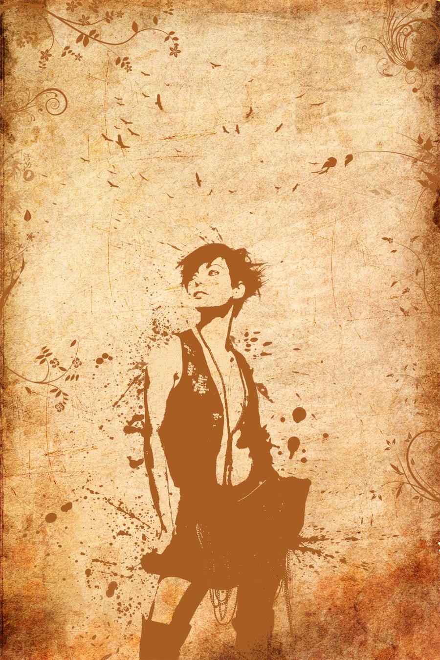 Grunge Portrait by decoybg