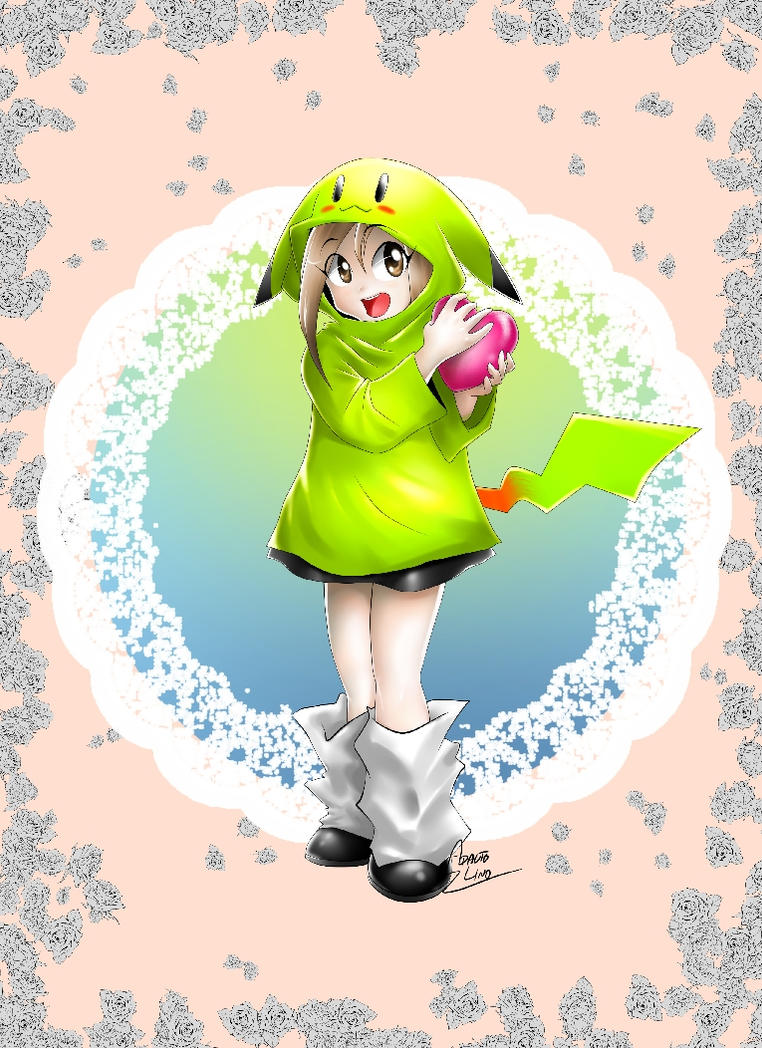 Looh PIKACHU GIRL - Edited by hydeshin
