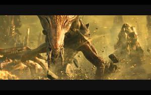 Starcraft 2 wallpaper 2 - Hydralisk by elite-hunter