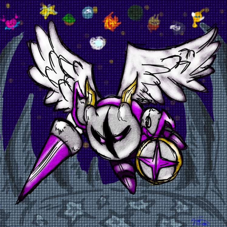 Galacta Knight Kirby Super Star Ultra