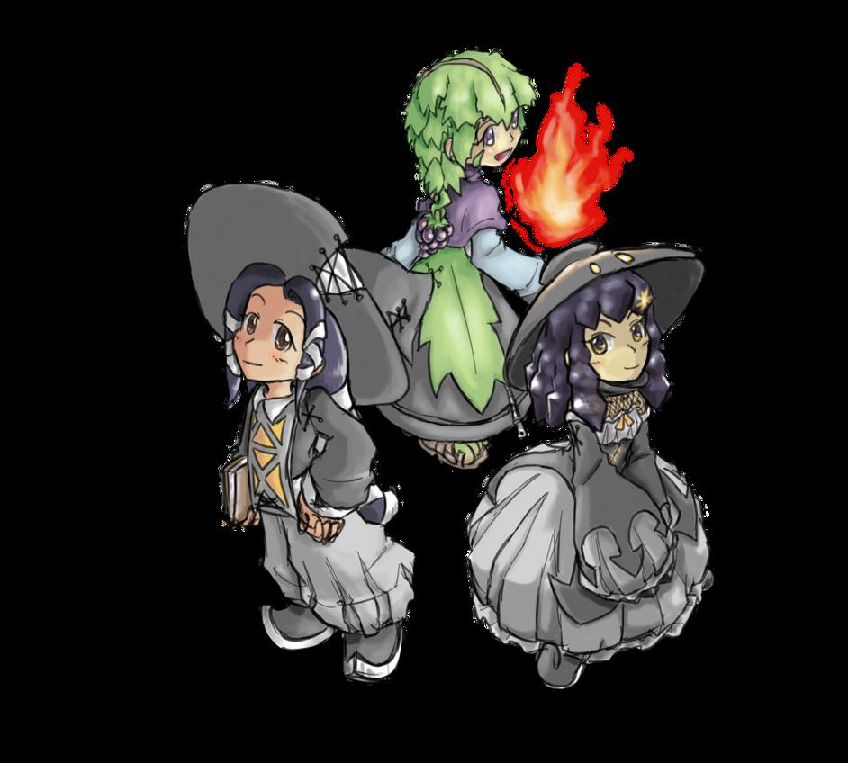 MC - Witch Trio by Minon