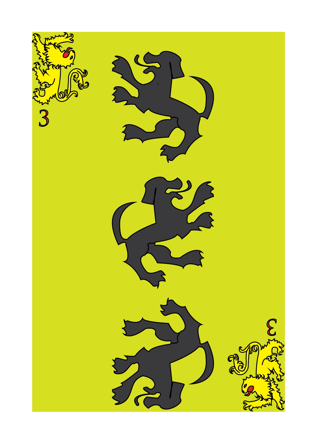 House Clegane by Dangercats77 on DeviantArt