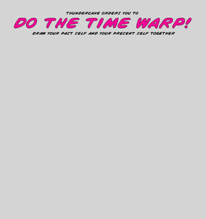 blank time warp template