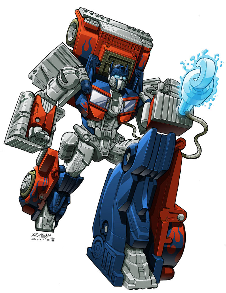 FAB Optimus Prime by REX-203