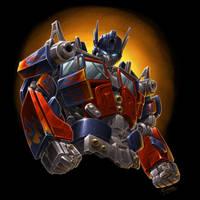 Optimus Prime painting