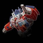 Optimus Prime white lines