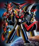 Go Nagai's Super Robots