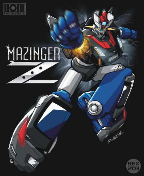 Mazinger 350Z by REX-203