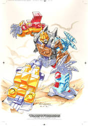Monstructor #1 for Transformers IDW Limited Vol. 2 by REX-203