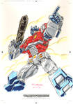 Optimus Prime #1 for Transformers IDW Limited V. 2