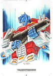 Optimus Prime #2 for Transformers IDW Limited V. 2