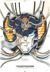Sunstreaker #2 for Transformers IDW Limited Vol. 2 by REX-203