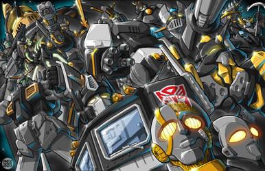 Robot-Japan black repaint by REX-203