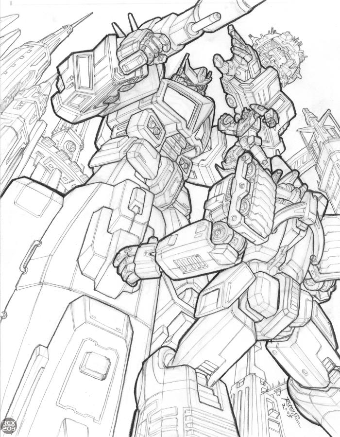 Galvatron Coloring Pages Coloring Pages