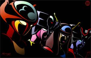 Mazinger Fembots by REX-203
