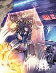 Autobot Invader - TF Mag 2