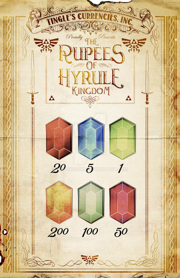 Tingle's The Rupees of Hyrule - Legend of Zelda by studiomuku on
