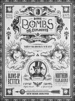 Legend of Zelda Bomb Shoppe Advertisement by studiomuku