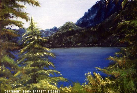 Bob Ross Canvas Painting